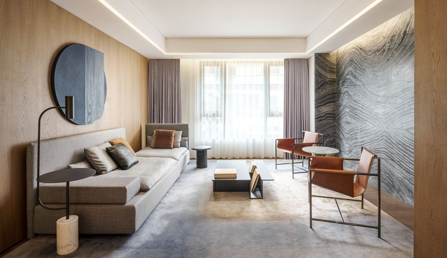 With Its Shanghai Townhouses Toronto S Mason Studio Redefines Luxury Azuremagazine Com Interior Design Interior Design Magazine Cabinetry Design