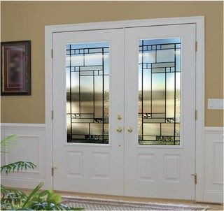 Smooth Skin Fiberglass Door Series - modern - front doors - los ...