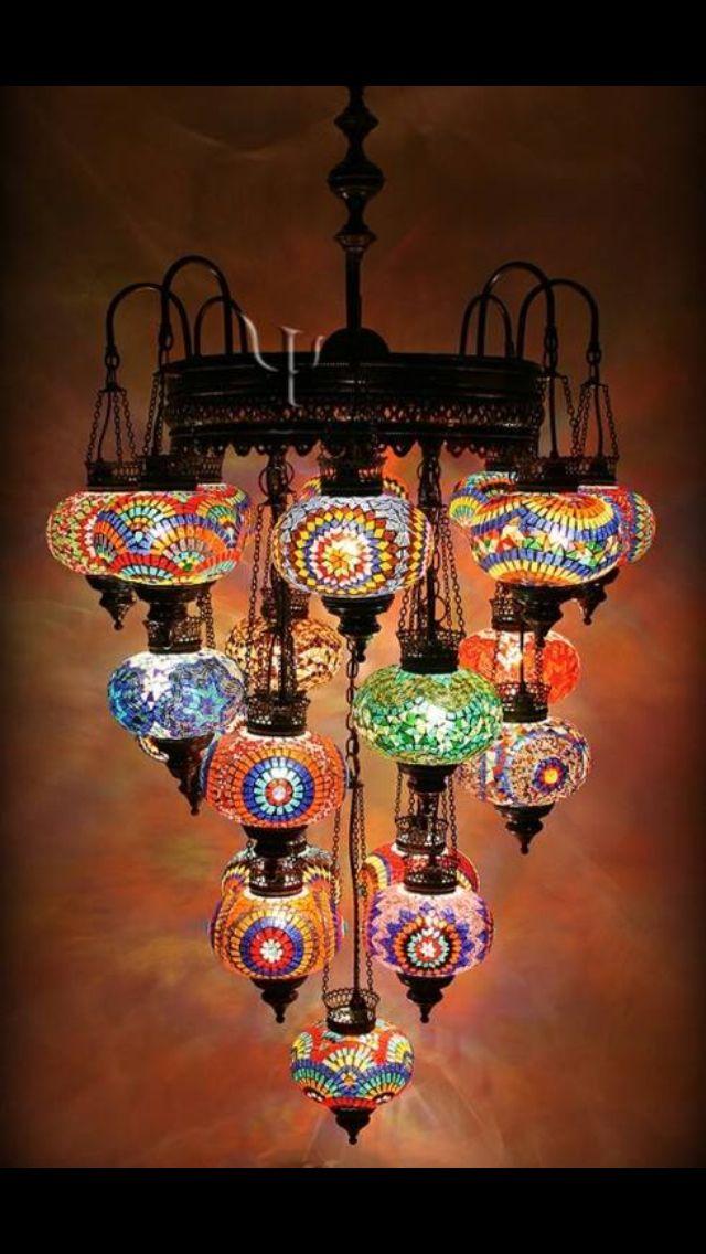 Bohemian Light Home Decor In 2019 Chandelier Lamp