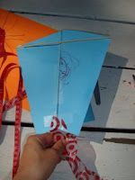paper kite tutorial