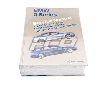 Bmw 5 Series E60 E61 Repair Information This Manual Contains In Depth Maintenance Service And Repair Information For The Bmw 5 Bmw Repair Manuals Repair