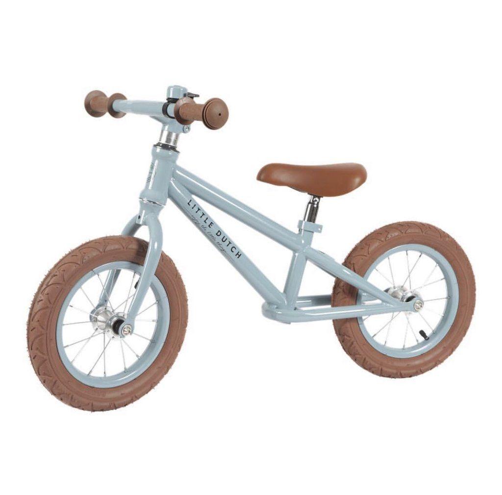Jafnvaegishjol Blatt Balance Bike Balance Bicycle Light Blue Bike