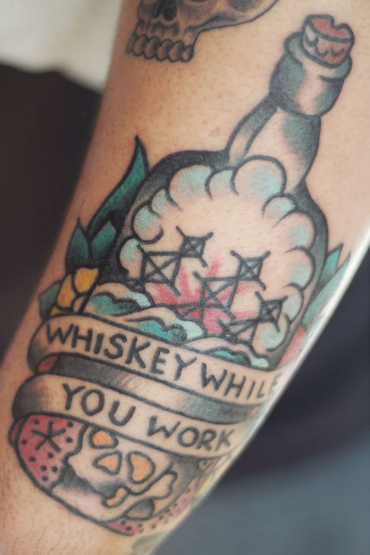 Whiskey While You Work