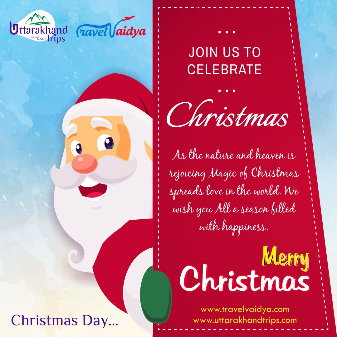 Uttarakhandtrips Wishes Everyone A Very Merrychristmas