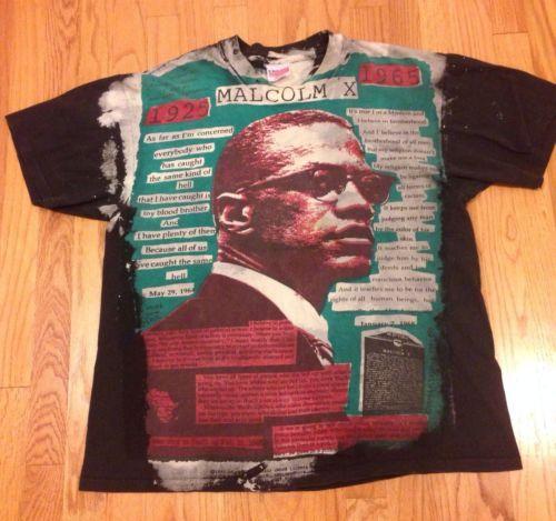 Vtg 80s 90s Malcom X Mosquitohead T Shirt 40 Acres Hip Hop Spike Lee Rap Tour Shirts Vintage Outfits Spike Lee