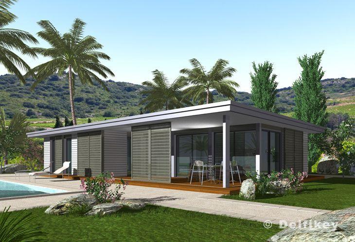 Arquitectura de Casas: Sobre la construcción en seco de viviendas modernas.