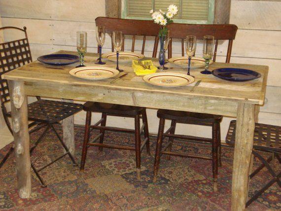 Farmhouse Dining Table Dining Room Table Driftwood Table Beach