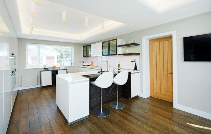 Attractive Stunning Views Out To Sea Meant This Holiday Home Kitchen Needed To Amazing Ideas