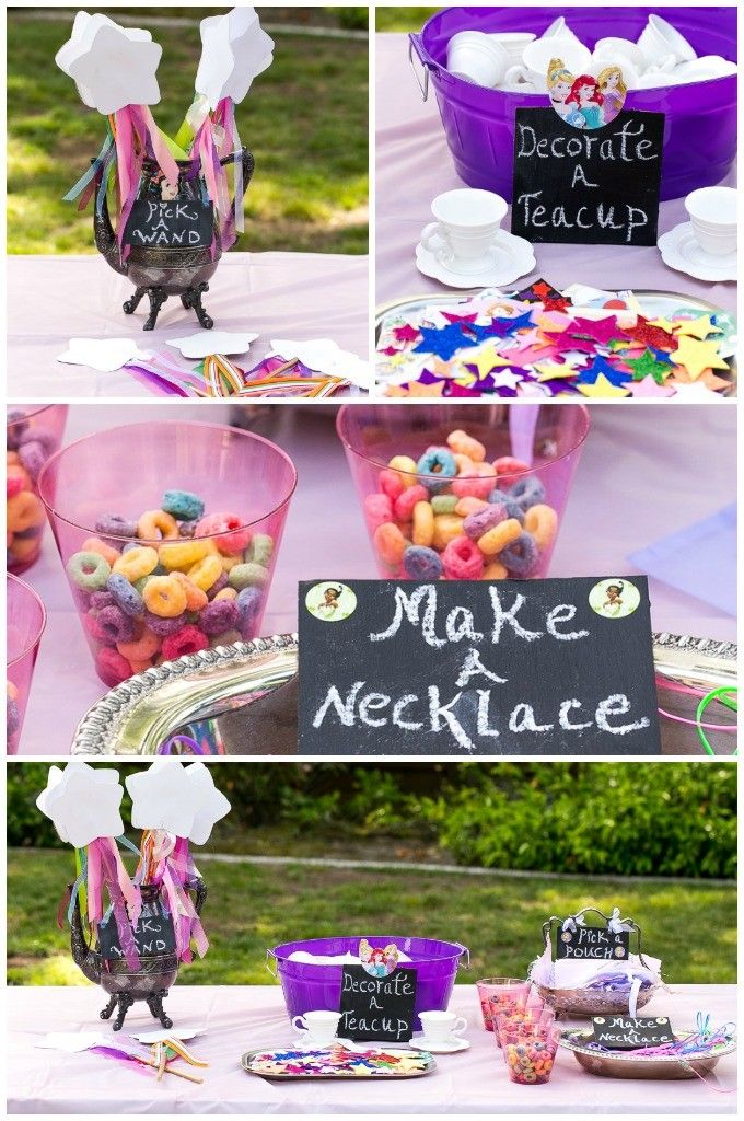 A Princess Tea Time Birthday Party Including Ideas For Food Crafts