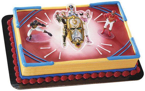 Terrific Power Rangers Mega Force Cake Topper Kit Birthday Party Supplies Funny Birthday Cards Online Inifodamsfinfo