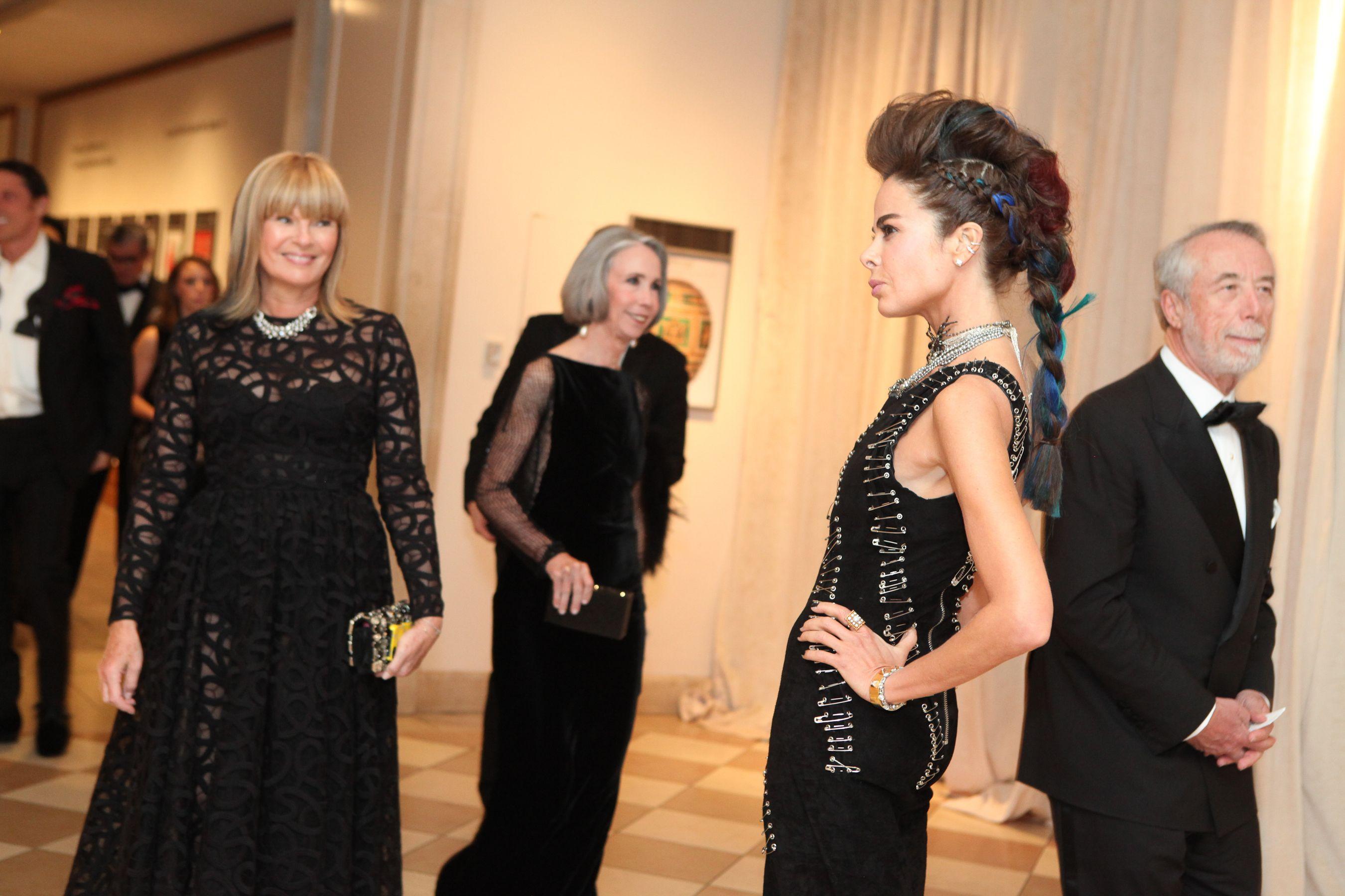 Allison Sarofim's fauxhawk at the Met Gala.