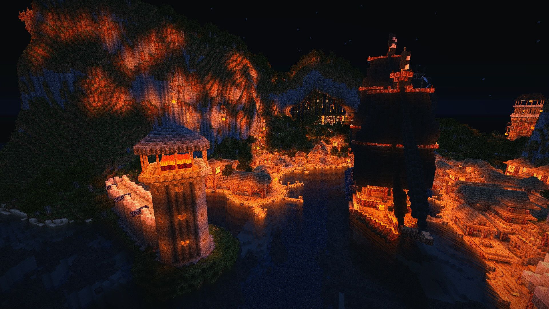 Wallpapers mod, game, cloud, sky, minecraft