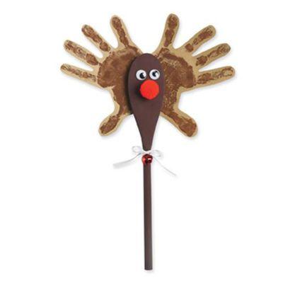 wooden spoon reindeer craft 1