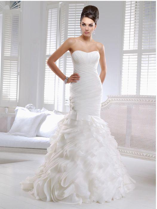 Wedding dress inspired by Hilary Duff\'s Vera Wang wedding dress ...