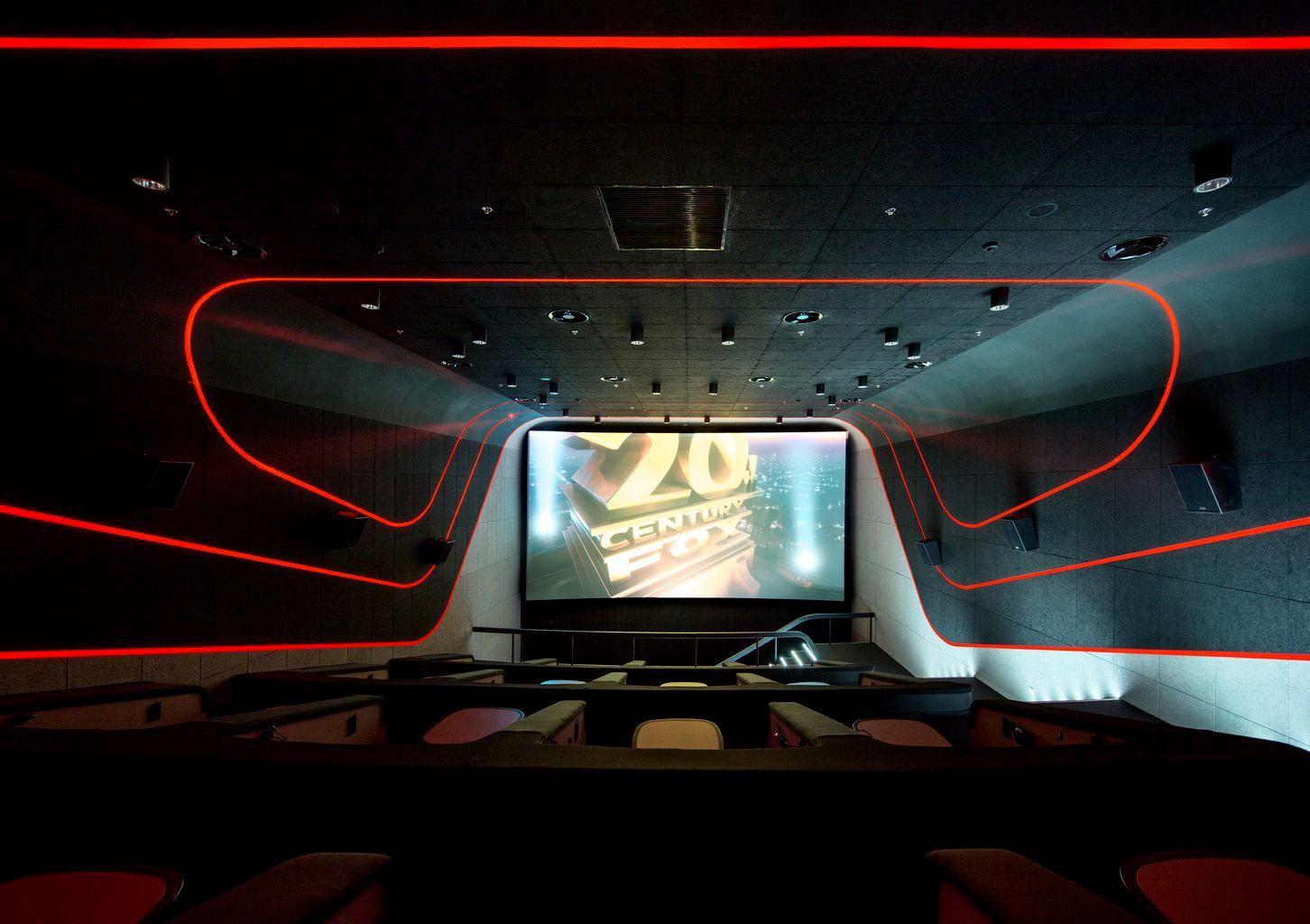 Multiplex Atmocphere Cinema Sergey Makhno Architects On Behance Cinema Design Cinema Room Home Cinema Room