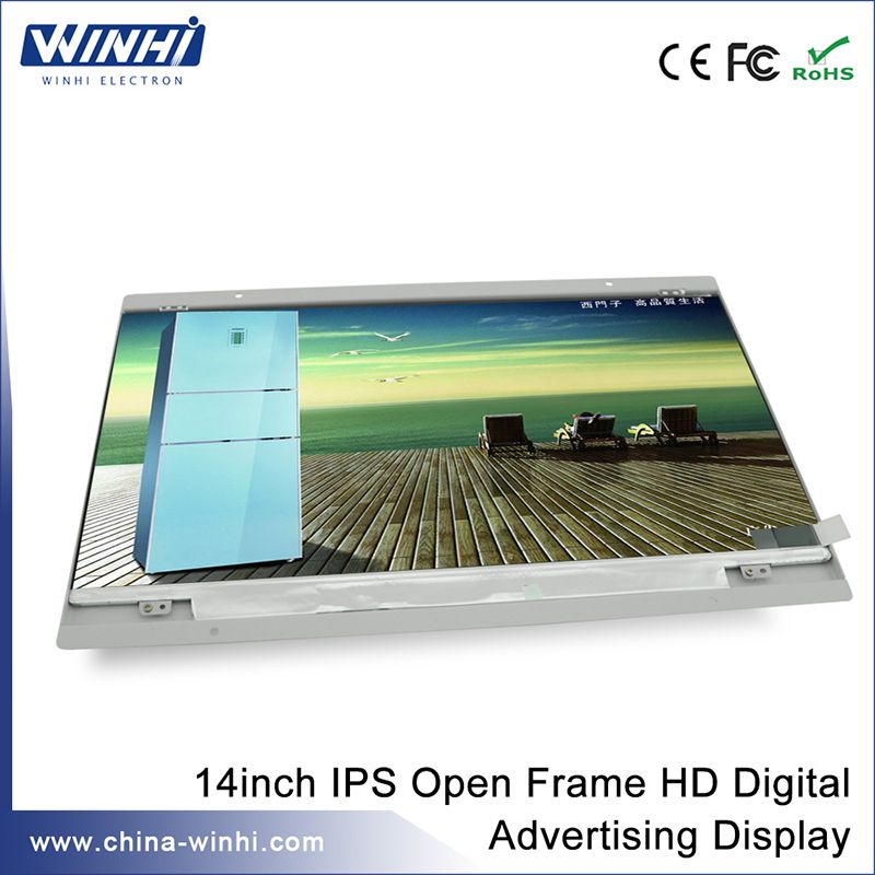 Model:PT140MD-1 Item:14inch IPS Open Frame HD Digital Advertising ...
