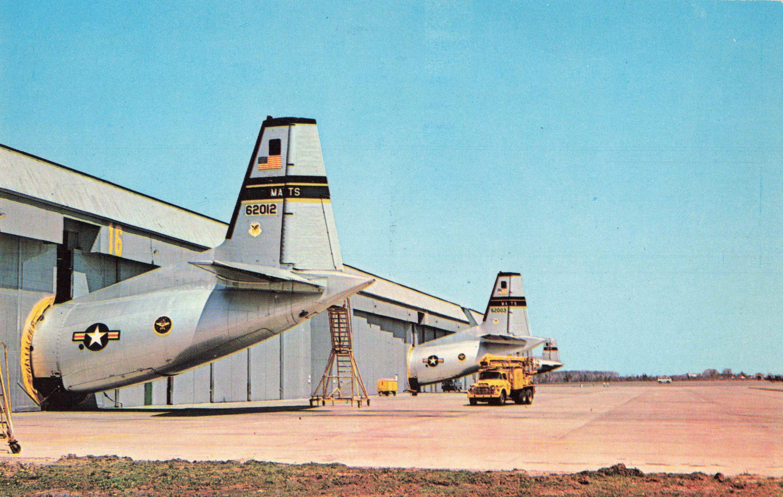 Postcard Hangars Dover Air Force Base Delaware