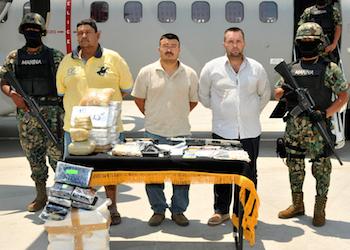 Alleged CJNG members under arrest   Drug War   Drug cartel