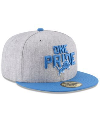 New Era Boys  Detroit Lions Draft 59FIFTY Fitted Cap - Gray 6 3 4 ... f079de625
