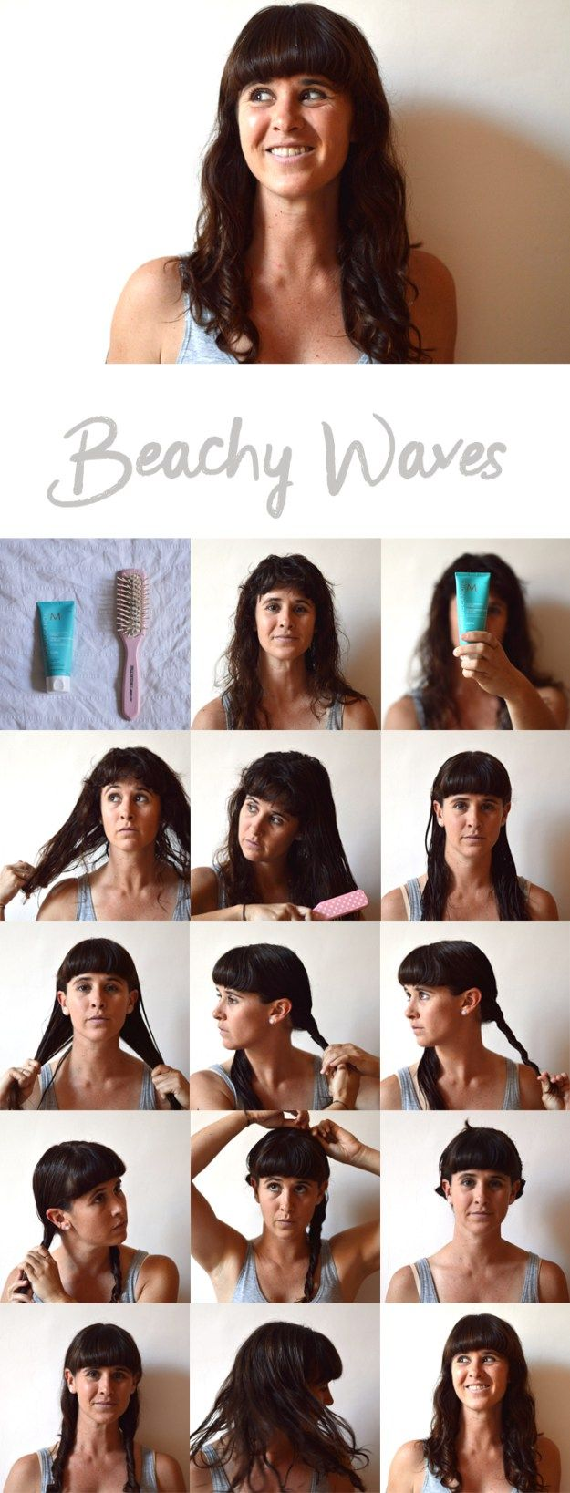 5 Easy and Awesome Travel Hair Styles | Travel hairstyles, Hair styles, Hair looks