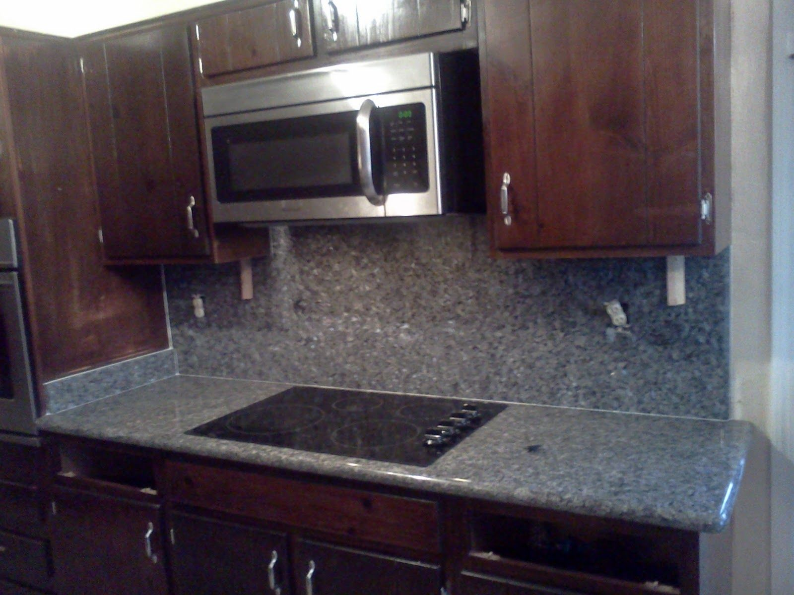 Blue Pearl Granite Backsplash Ideas Part - 27: A Beautiful Blue Pearl Granite Installed By Our Crew.