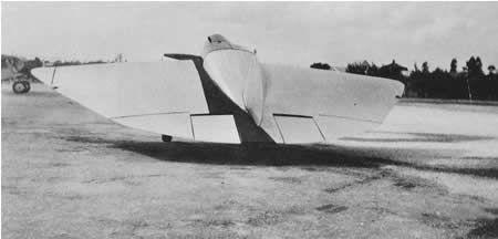 tailless Aeronave en los EE.UU.