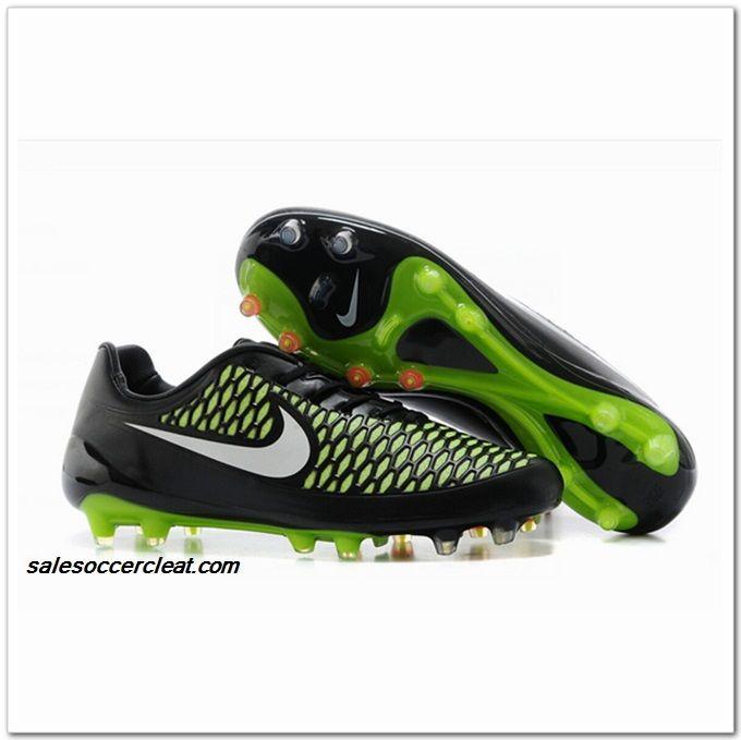 2014 FIFA World Cup Brazil Nike Magista Opus FG soccer boots black green  white