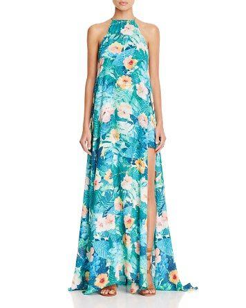 7b4d6a42d6e Show Me Your MuMu Bronte Side-Slit Maxi Dress - Bloomingdale s ...