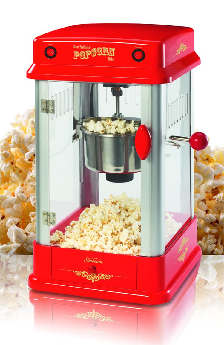 68 77 Sunbeam Professional Popcorn Maker At Ca Makes Hot Delicious In