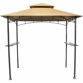 Pin By Cathy Estes Sparks On Exterior Shots Outdoor Enjoyment Entertaining Grill Gazebo Gazebo Replacement Canopy