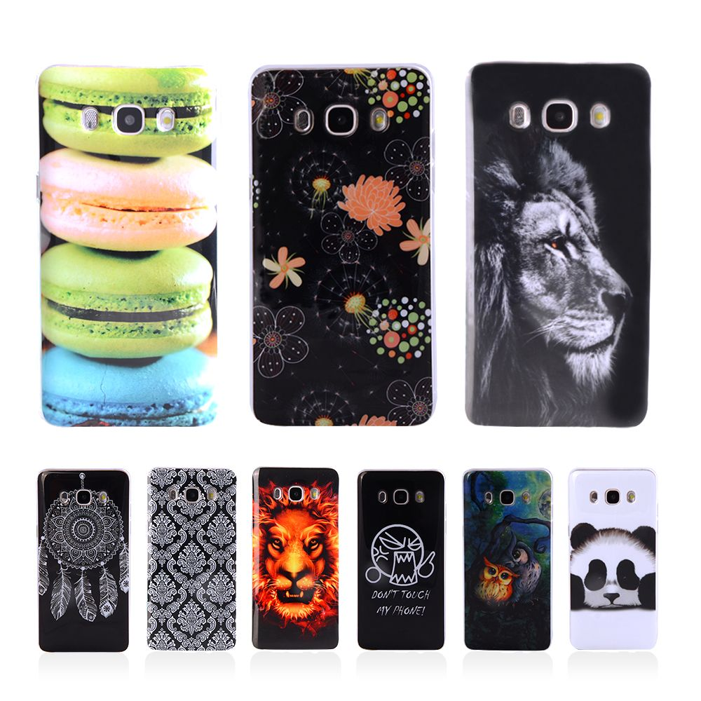 J5 2016 Fundas Fashion Phone Case Silicone TPU Cover For Samsung Galaxy J5 2016 J510 J510F J510G Soft Plasitc Phone Bag Coque