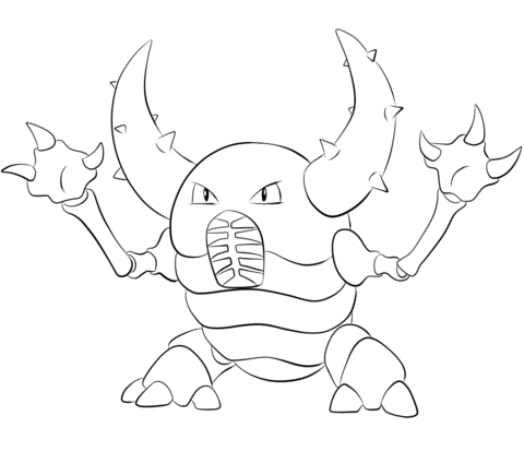 Pinsir Coloring Page Free Printable Coloring Pages Pokemon Coloring Sheets Pokemon Coloring Pages Coloring Pages