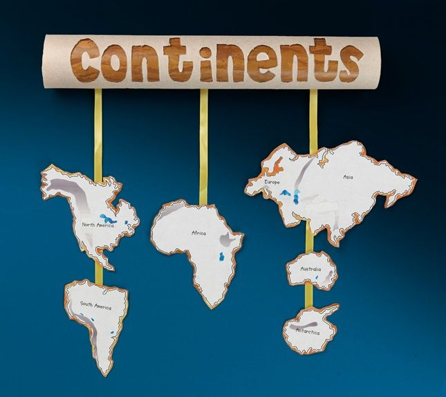 Float From Africa To Asia From Antarctica To The Americas Explore - Major continents