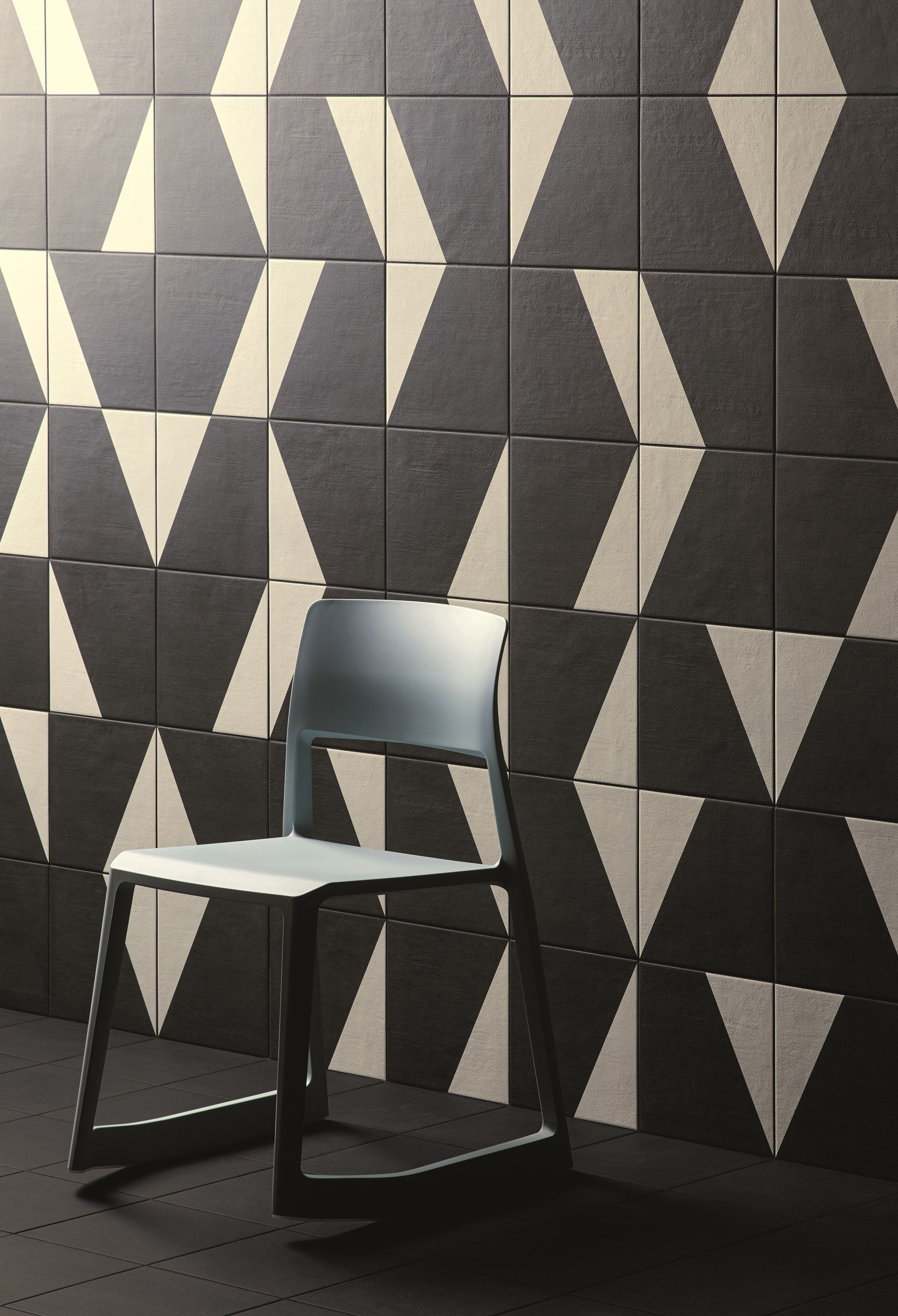 Glazed stoneware wall/floor tiles PUZZLE Puzzle Collection by MUTINA design Barber