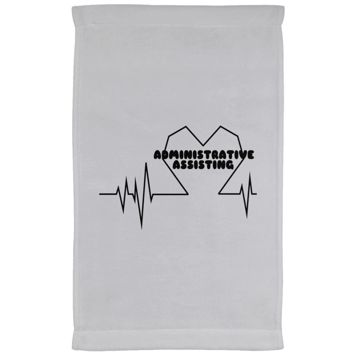 Administrative Assistting Heartbeat Kitchen Towels