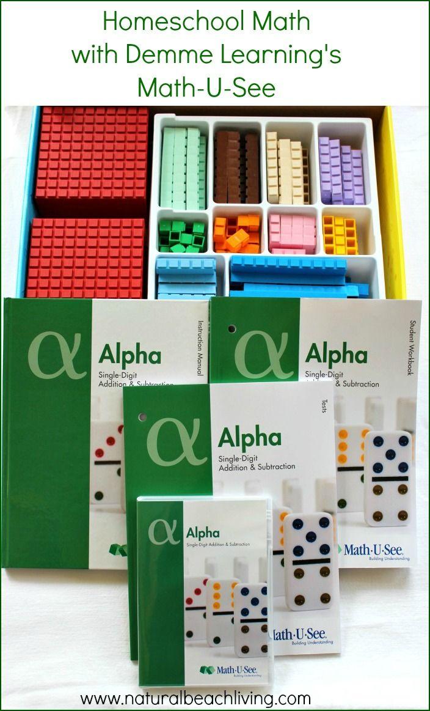 Homeschool Math Demme Learning Math U See Math U See Homeschool Math Learning Math [ 1163 x 704 Pixel ]