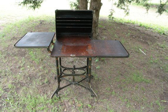The Toledo Metal Furniture Company Uhl Art Steel Typists Stenographers Desk