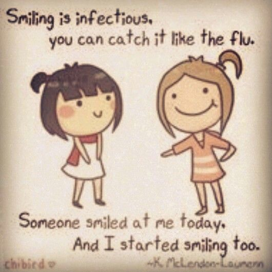 Contagious Smile | Smile Quotes | Quotes, Happy quotes, Smile quotes
