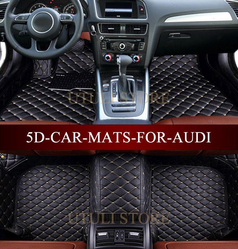 Car Floor Mats For Audi A1 A3 A4 A6 A7 A8 Q3 Q5 Q7 Tt 3d Custom