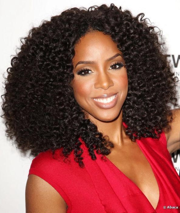 Crochet Curly Hairstyles For Black Women 2015 Celebrity