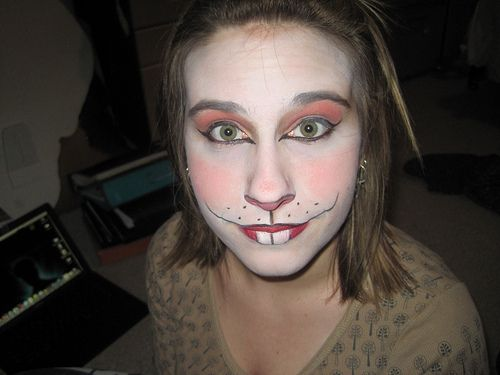 simple rabbit makeup, and lots of others | Tricks-n-Treats ...