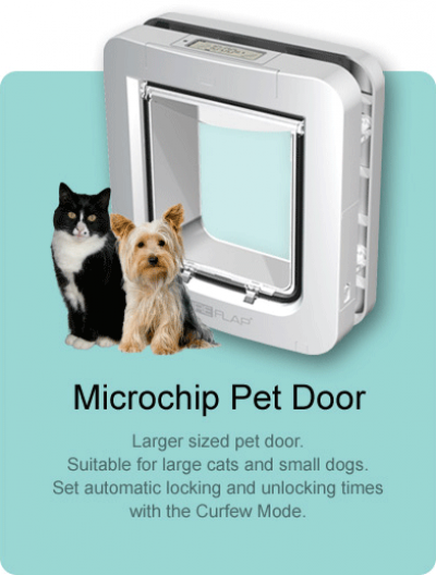 The SureFlap Microchip Pet Door is the first to be