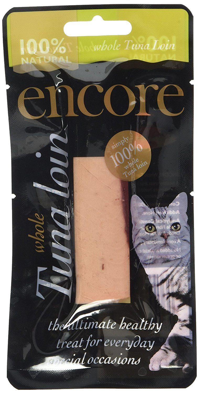 Encore Cat Food Treat Tuna Loin, 30 g, Pack of 12 Cat
