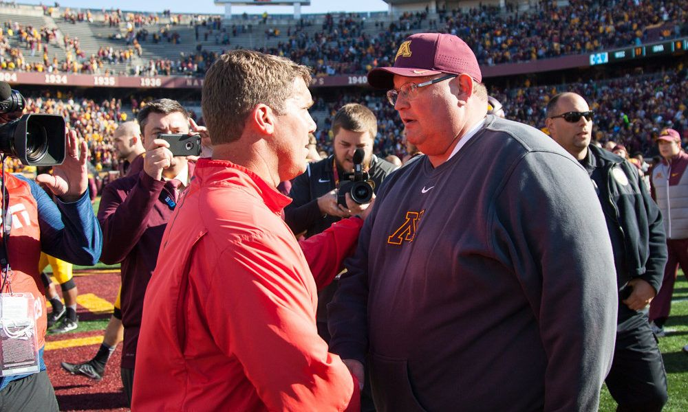 More on mind of Minnesota's Claeys than football = Tracy Claeys has more than football on his mind these days. Off-field issues are following the Minnesota coach throughout the fall.  Five Golden Gopher players have a restraining order against them stemming from an alleged.....