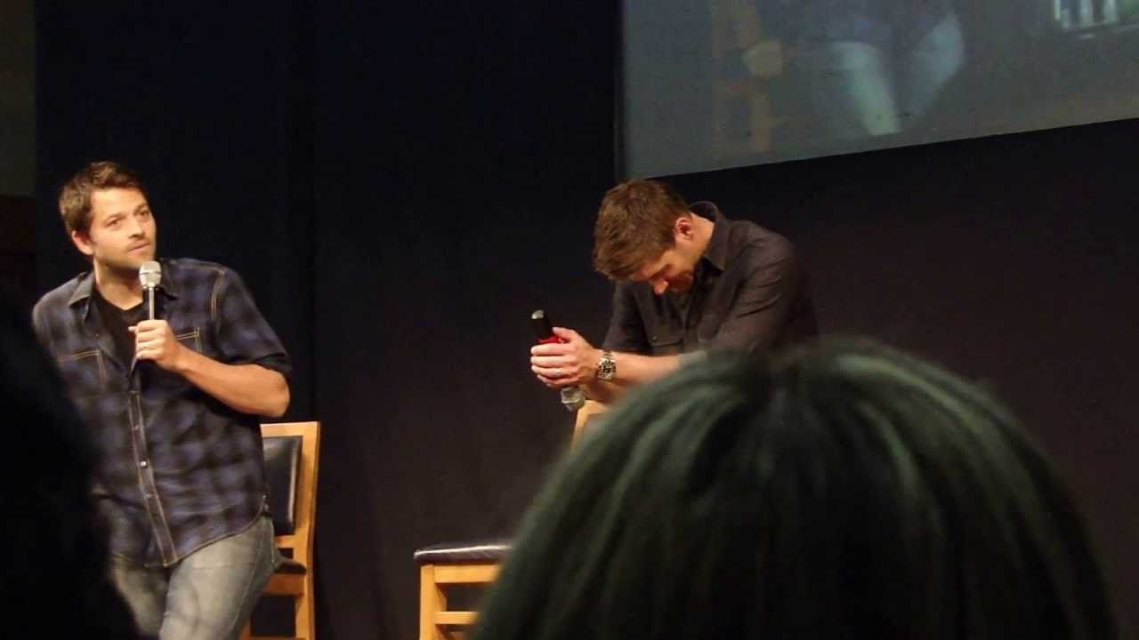 Jensen and Misha have a resume-off. This video is the perfect ...
