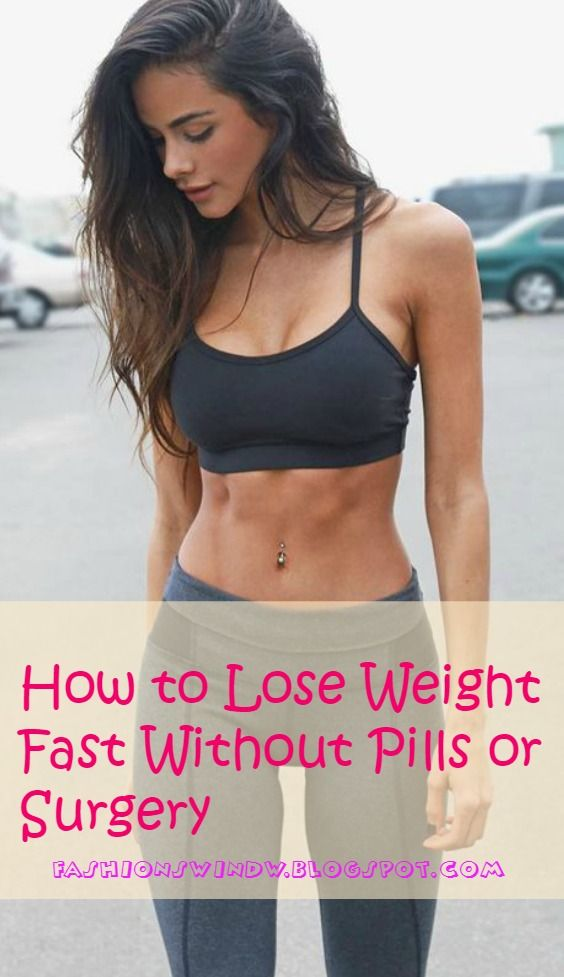 How to Lose Weight Fast Without Pills or Surgery