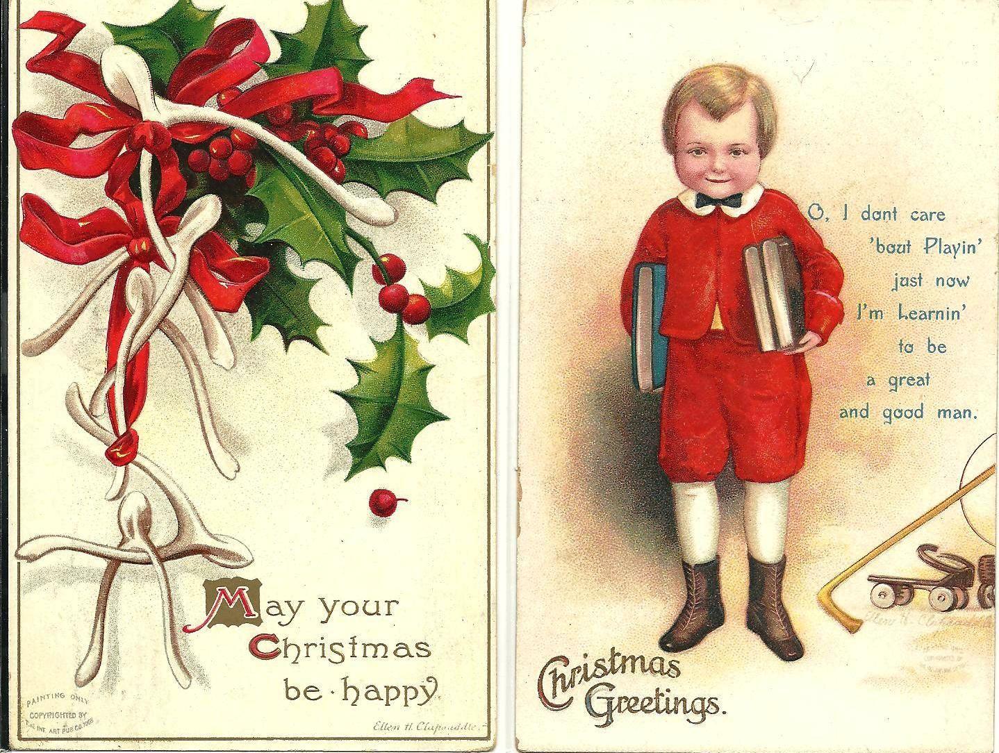 CHRISTMAS Cards, Illustration, Artist