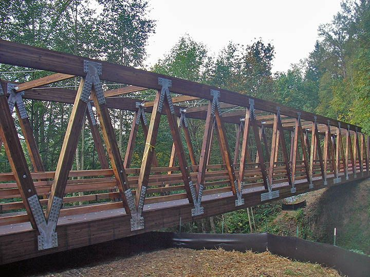 Pedestrian Timber Bridge Design Construction And Supply We Will