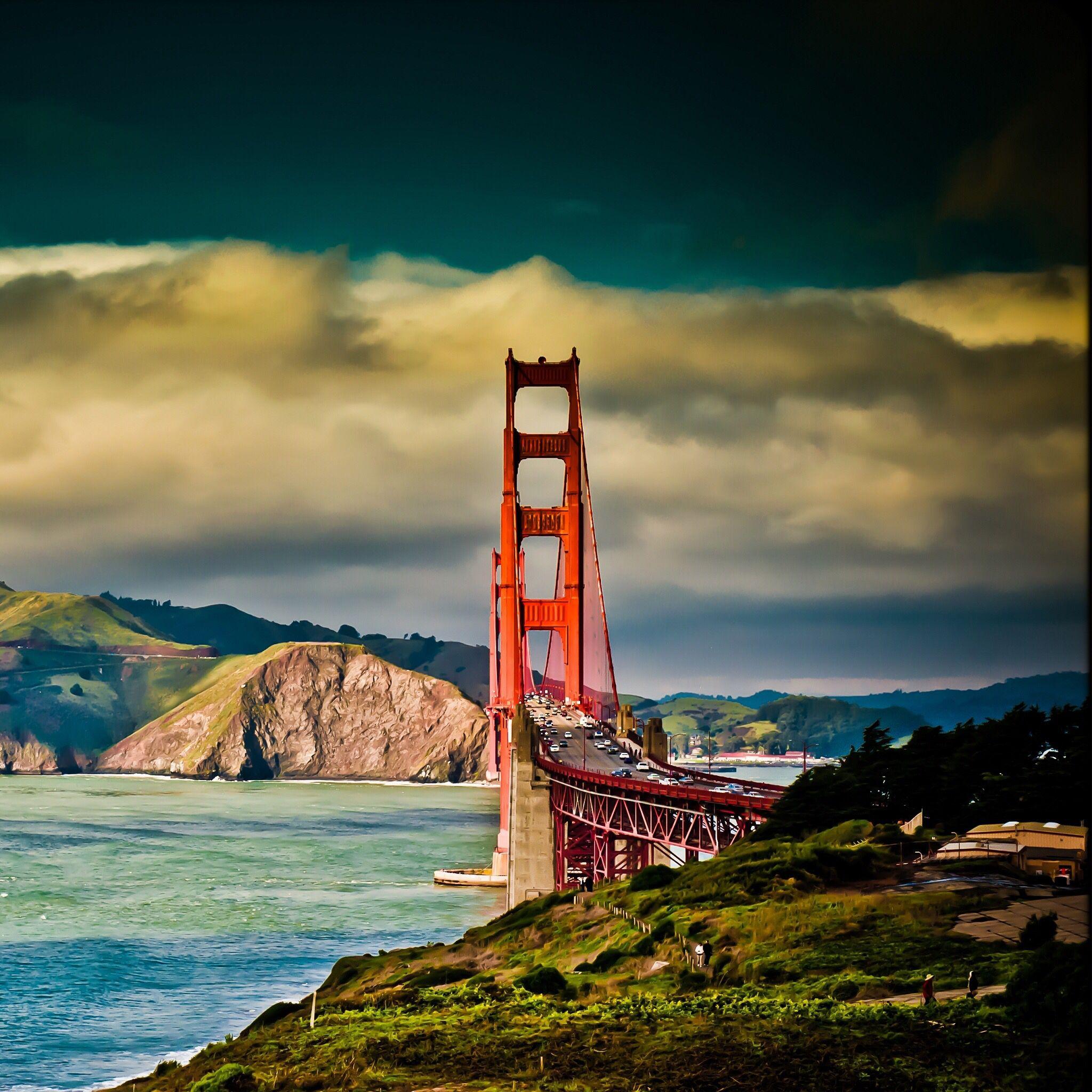 IPad Mini Retina, Golden Gate Bridge San Francisco