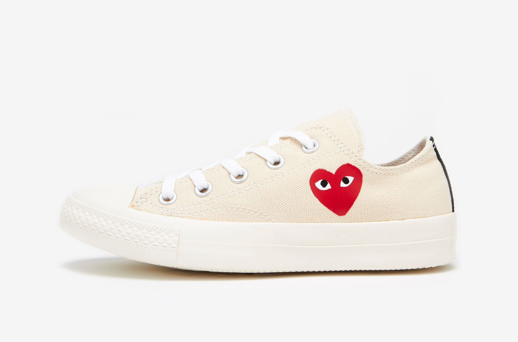 cdg low top converse